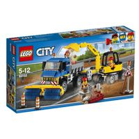 LEGO® City Great Vehicles Sweeper & Excavator: 60152