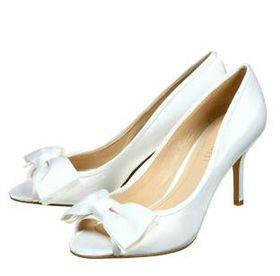 Nine West Garden Party Heel - White