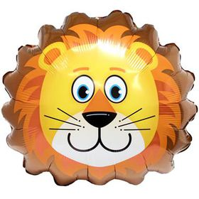 Lion Face Foil Balloon