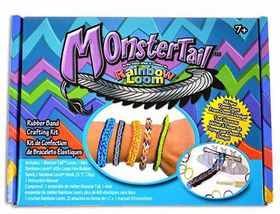 Monstertail Rainbow Loom (600+ Bands)