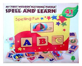 Spell & Learn Matching Puzzle Game