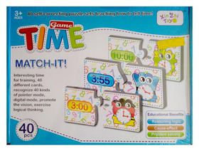 Time Match-It Game (40 Piece's)