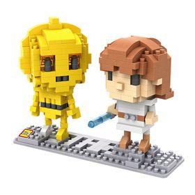 Diamond Blocks - Luke Skywalker