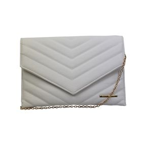 Blackcherry Envelope Clutch Bag - Off-white