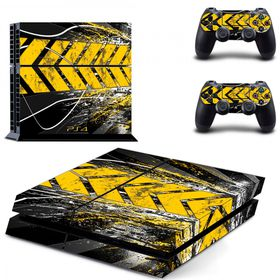 SKIN-NIT Decal Skin For PS4 -  Abstract Track