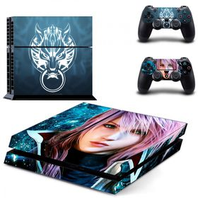 SKIN-NIT Decal Skin For PS4 -  Final Fantasy New