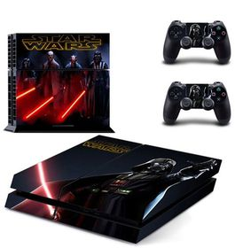 SKIN-NIT Decal Skin For PS4 -  Star Wars (Red)