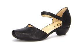 Aida 86249-00 Mary Jane Vintage Ladies Pump - Black