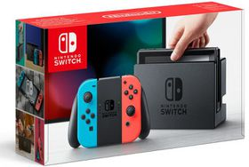 Nintendo Switch Console With Neon Red And Neon Blue Joy-Con (NS)