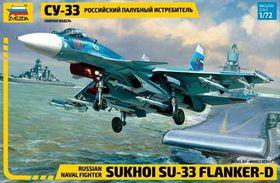 Zvezda Sukhoi Su-33 1/72 Scale Model Kit by Zvezda