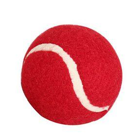 Bulk Pack 20 X Tennis Ball (Cricket) In Pocket - Red