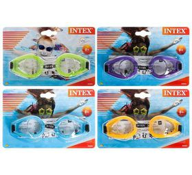 Bulk Pack 8 X Intex Swim Goggles suitable For Ages 3 to 10 years