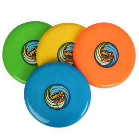 Bulk Pack 8 X Frisbee - 26cm Assorted Colours