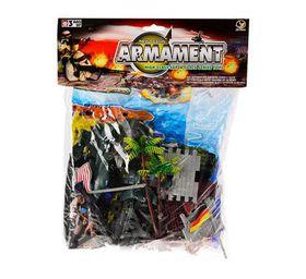 Bulk Pack 3 X Military Figurine Play Set 55 Piece Set