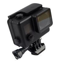 Optodio GoPro Hero 4, 3+, 3 Waterproof Protective Housing Case - Black