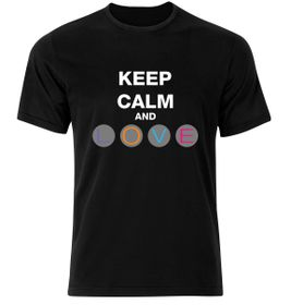 GAMERGEAR: Keep Calm T-Shirt - Black