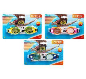 Bulk Pack 8 X Intex Swim-Goggles Junior