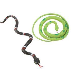 Bulk Pack 8 X Rubber Snake - 86cm Assorted