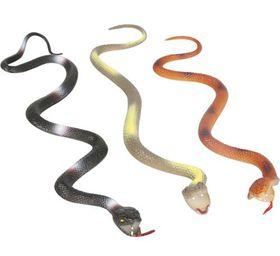 Bulk Pack 8 X PVC Snake Assorted