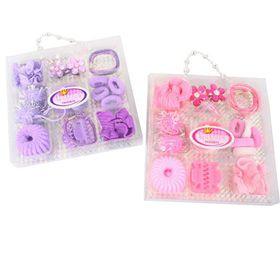 Bulk Pack 6 X Princess Secret Hair Ornament Set 16 Piece Set in Carry Pack