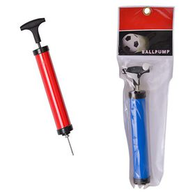 Bulk Pack 6 X Plastic Ball Pump with Valve and Needle - 22cm