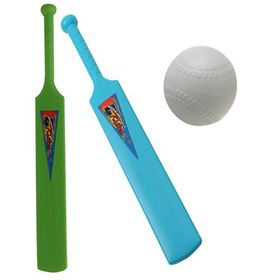 Bulk Pack 6 X Cricket-Bat Plain with Ball 72cm