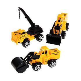 Bulk Pack 5x Construction Vehicle Set 3 Piece Set