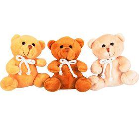 Bulk Pack 4x Teddy Bear 14cm Assorted Colours