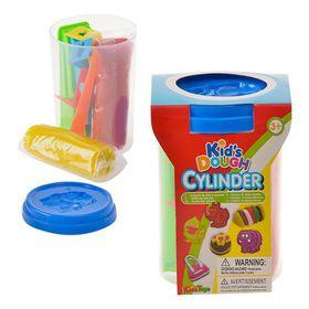 Bulk Pack 4x Play Dough Set Tube of 9 Piece Set