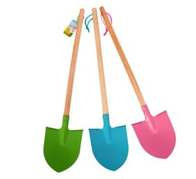 """Bulk Pack 4x """"Garden Monsters"""" Kids Spade Assorted Colours"""