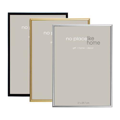 Bulk Pack 4x Assorted Colour Plastic Rim Frames For A4 Certificate ...
