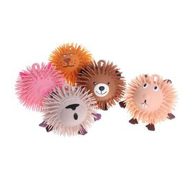 Bulk Pack 4x Puffer Ball Critters 15cm with LED Inside