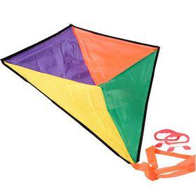 Bulk Pack 4x Nylon Dual Line Kite 71x71cm Assorted