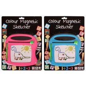 Bulk Pack 4x Magnetic Drawing Board Assorted Colours