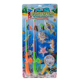 Bulk Pack 3x Fishing Game With Two Rods