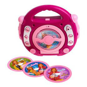 Bulk Pack 3x Toy CD Player Assorted