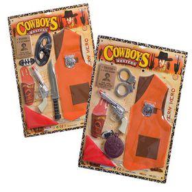 Bulk Pack 3x Cowboy Set