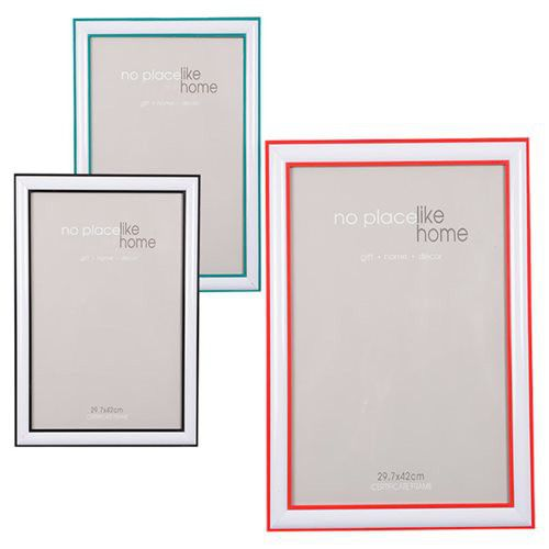 Bulk Pack 3x Plastic Picture Frame A3 Size 3 Assorted Colours | Buy ...