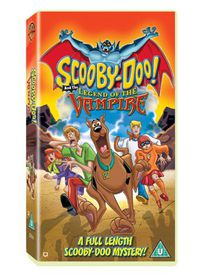 Scooby Doo and the Legend of The Vampire (DVD)