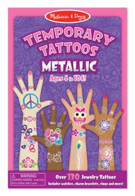 Melissa & Doug Metallic Tattoos