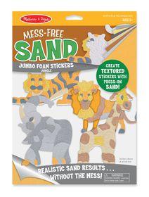 Melissa & Doug Mess Free Sand Stickers - Jungle