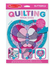 Melissa & Doug Quilting Butterfly