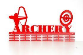 TrendyShop DC Archery Medal Hanger - Red