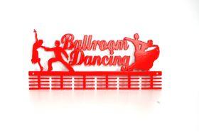 TrendyShop DC Ballroom Dancing Medal Hanger - Red
