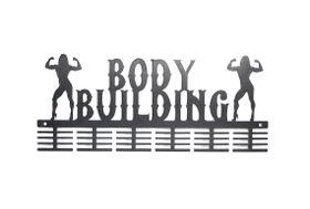 TrendyShop DC Body Building Female Medal Hanger - Black