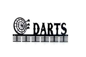 TrendyShop DC Darts Medal Hanger - Black