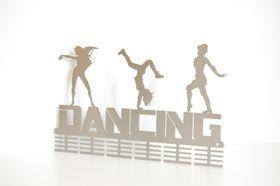 TrendyShop DC Dancing 3-figure 48 tier Medal Hanger - Stainless Steel