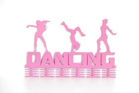 TrendyShop DC Dancing 3-figure 48 tier Medal Hanger - Pink