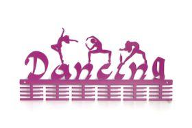 TrendyShop DC Dancing Mixed 48 tier Medal Hanger - Purple