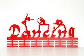 TrendyShop DC Dancing Mixed 48 tier Medal Hanger - Red